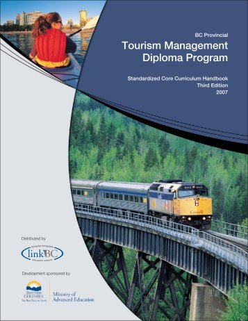 Tourism Management Diploma Programs - LinkBC