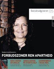 Socialrådgiveren nr. 5-2008 - Dansk Socialrådgiverforening
