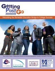 Rebuilding the Remedial Education Bridge to ... - Colorado.gov