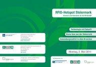 RFID-Hotspot Steiermark - TAGnology