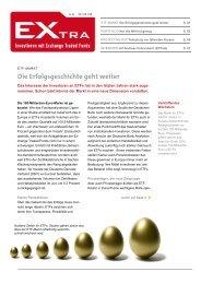 Die Erfolgsgeschichte geht weiter - EXtra-Magazin