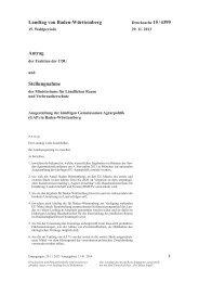Ausgestaltung der künftigen Gemeinsamen Agrarpolitik (GAP)