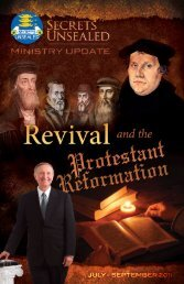 Reflections on Revival and Reformation, Part 2 of 3 - Secrets ...