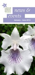 news & events - National Botanic Gardens