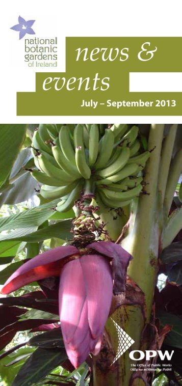 Download our events guide here - National Botanic Gardens