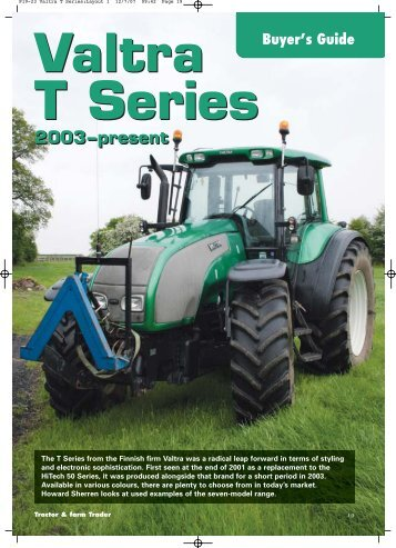 july 07-buyers guide for t series valtra - Brian Robinson Machinery