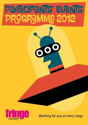 P g m  2012 - Edinburgh Festival Fringe