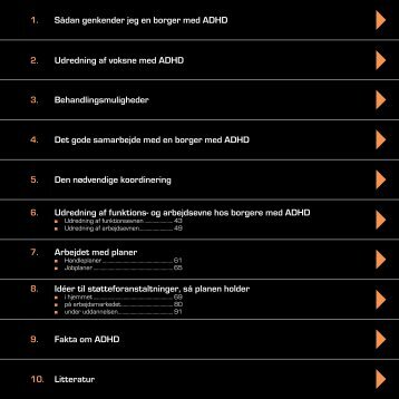 HÃ¥ndbog for Sagsbehandlere - ADHD: Foreningen