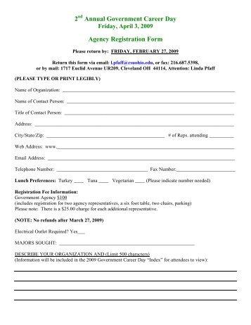 Form 603 (Lobbyist Employer or Lobbying Coalition Registration ...