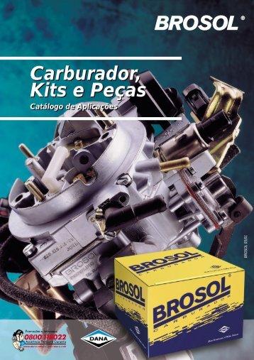 Carburador, Kits e Peças Brosol - Opala.com