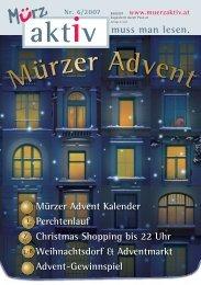 Mürzer Advent - Stadtgemeinde Mürzzuschlag