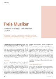 Freie Musiker - Das Orchester