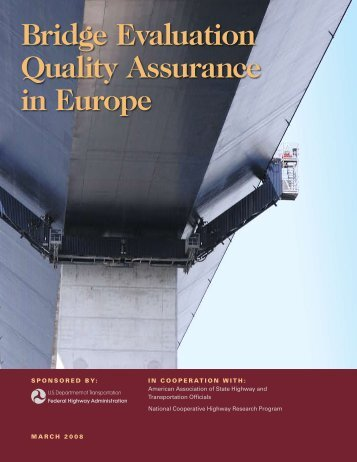 Bridge Evaluation Quality Assurance in Europe - the Office of ...
