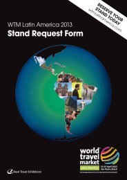 Stand Request Form - World Travel Market