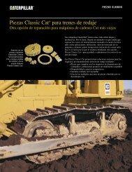 Tren de rodamiento CAT - Venequip