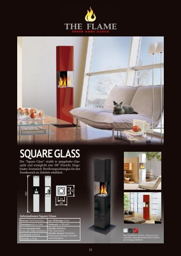 SQUARE GLASS - The Flame