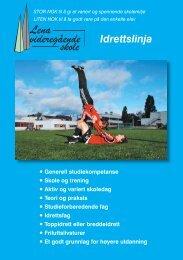 Idrettslinja - Videregående skoler