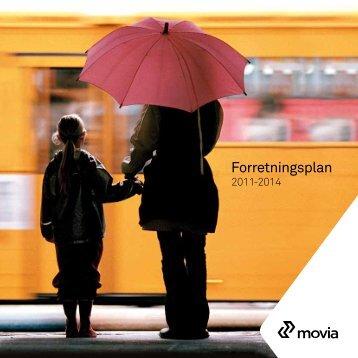 Movia Forretningsplan 2011-2014