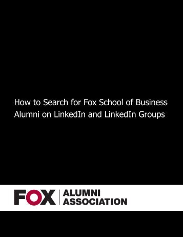 How-to-Search-for-Fox-School-of-Business-Alumni-on-LinkedIn-and-LinkedIn-Subgroups