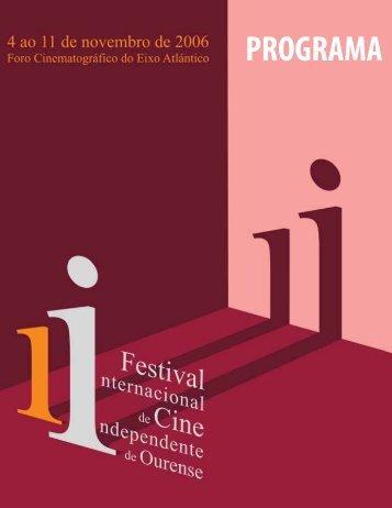 PROGRAMA - Festival de Cine Internacional de Ourense