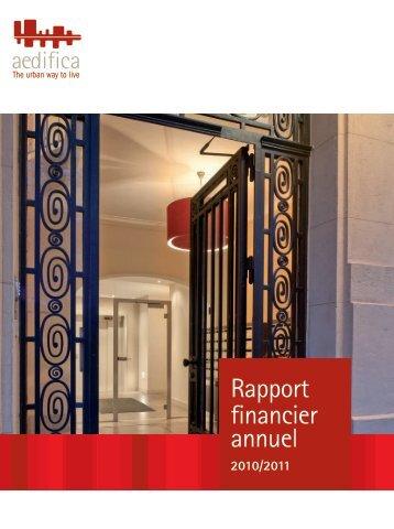 Rapport annuel - Alle jaarverslagen