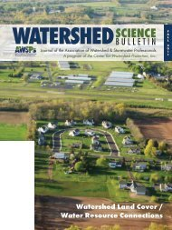 Forecasting Future Land Use and Its Hydrologic Implications
