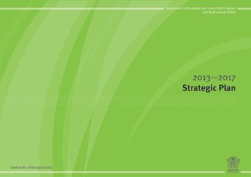 2013-2017 Strategic Plan - Department of Aboriginal and Torres ...