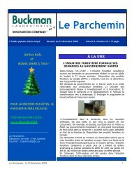 Le Parchemin - Pulp and Paper Canada