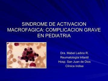 Síndrome de activación macrogáfica: complicación grave en pediatría