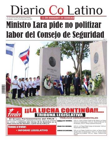 Edición 27 de Noviembre de 2014