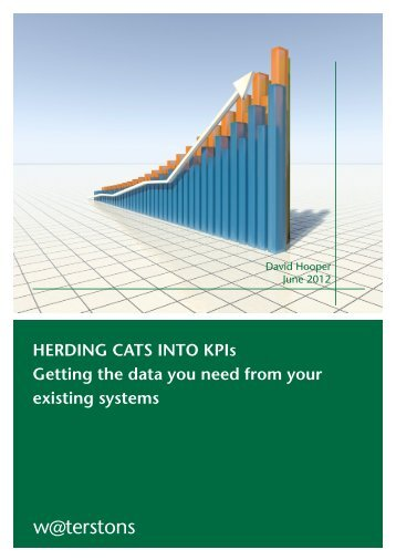 HERDING CATS INTO KPIs - Sourcingfocus.com
