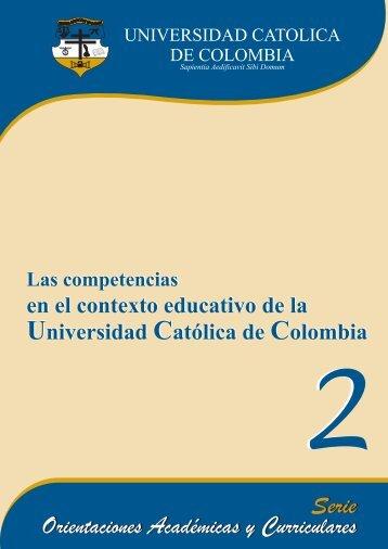Las Competencias en el Contexto Educativo de la Universidad ...