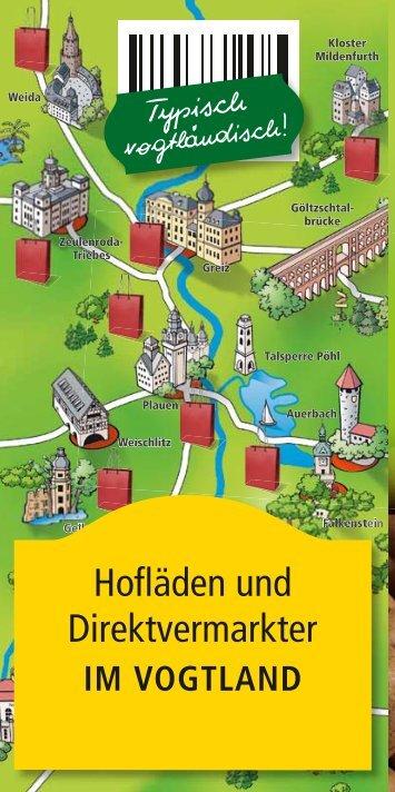 Hofläden und Direktvermarkter im Vogtland