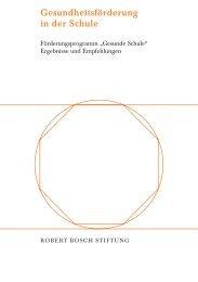 Ergebnisse und Empfehlungen (PDF) - Robert Bosch Stiftung