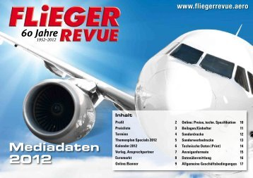 Mediadaten 2012 - Fliegerrevue