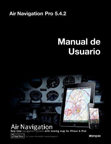 Air Navigation Pro 5.4.2 Manual de Usuario - Xample