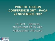 AM. BLUM - L'ARTICULATION VILLE-PORT A ... - ORT PACA