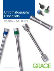 Chromatography Essentials - Markus Bruckner Analysentechnik