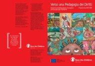 Verso una Pedagogia dei Diritti - Save the Children Italia Onlus