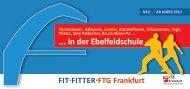 ... in der ebelfeldschule - FTG Frankfurt
