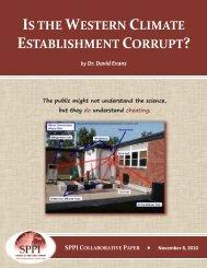 is the western climate establishment corrupt?