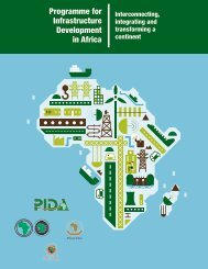 PIDA Executive Summary - English re - The Infrastructure ...