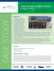 case study - Partners in Project Green