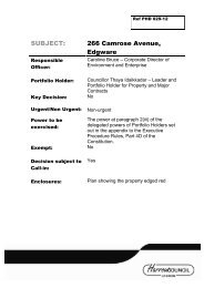 References From Other Committees Pdf 30 Kb Harrow Council