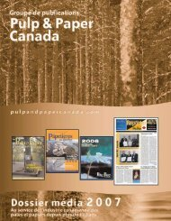 IMPOSITION/French MediaKit 2007.qxd - Pulp and Paper Canada