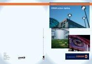 OSRAM outdoor lighting.