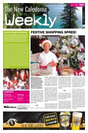 New Caledonia Weekly - Published 17-12-10 - hot deals