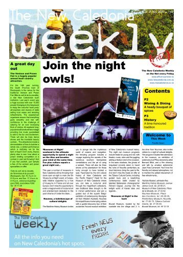New Caledonia Weekly - Published 15-05-09 - hot deals