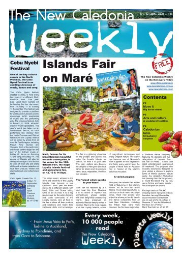 New Caledonia Weekly - Published 05-09-08 - hot deals