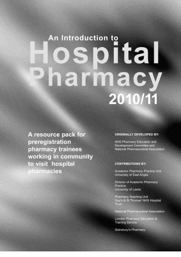 CSE Resource pack for Community m.pdf - General Pharmaceutical ...